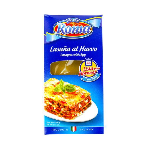 Lasagna al huevo - Roma 500 grs