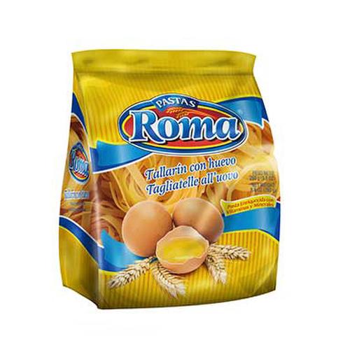 Tallarin con huevo - Roma 250 grs