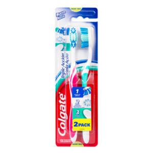 Cepillo de dientes 2 pack Colgate - Medio