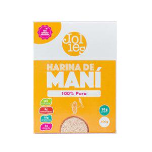 Harina de Mani Jollies - 500 grs