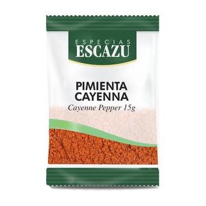 Pimienta Cayena - 15 gr Escazu