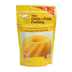 Mezcla Queque de Vainilla - Gluten Free Factory
