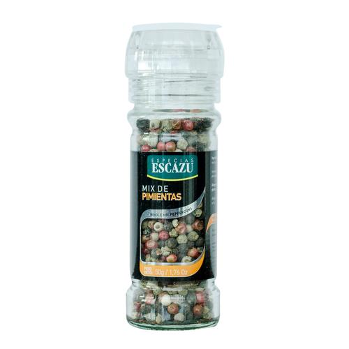 Molinillo Mix de Pimientas - 50 gr Escazu