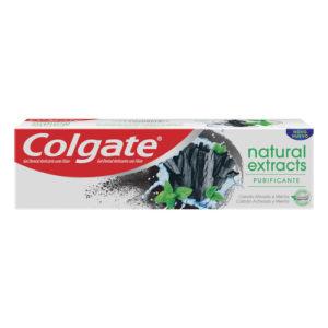 Pasta Dental Colgate Natural Extracts Carbón Activado & Menta 88 ml