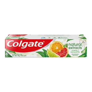 Pasta Dental Colgate Natural Extracts Citrus & Eucalipto 88 ml