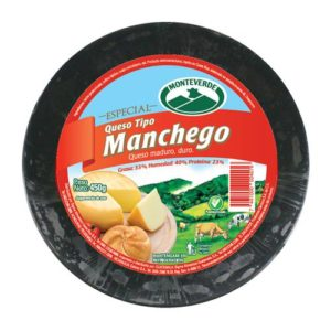 Queso Tipo Manchego - Monteverde - 450 grs