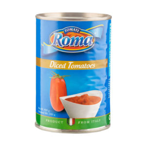 Lata Tomate Trocitos Roma - 400gr