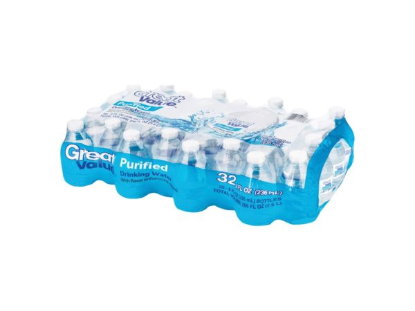 32 Pack Agua Great Value Purificada - 236ml
