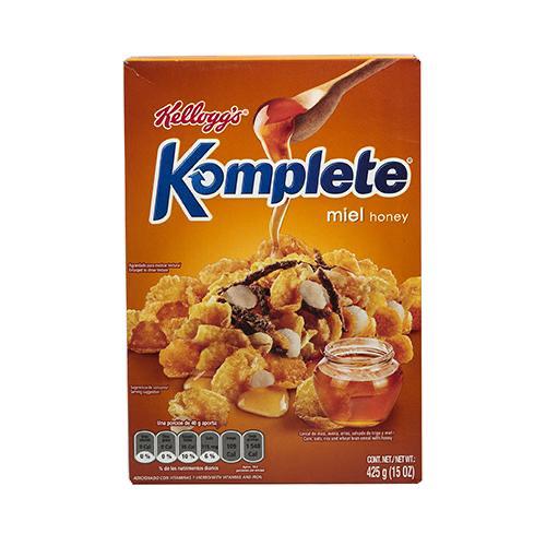 Cereales Komplete Miel - Kellogg's - 425 grs