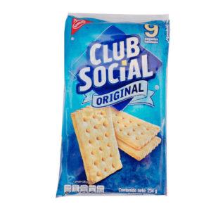 Galletas Club Social Original - Nabisco - 234 grs