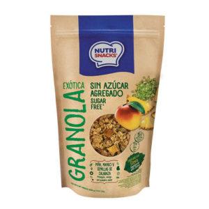 Granola Exótica con Piña, Mango y Semillas de Calabaza - NutriSnacks- 300 grs