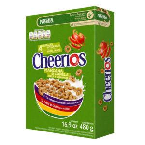 Cereales Cheerios Manzana y Canela - 480 grs