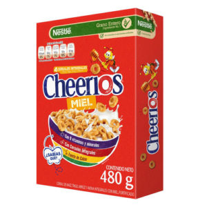 Cereales Cheerios Miel - 480 grs