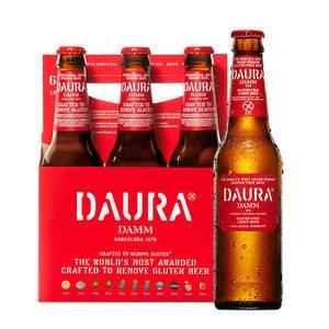Pack de 6 - Daura Damm Gluten free 330 ml