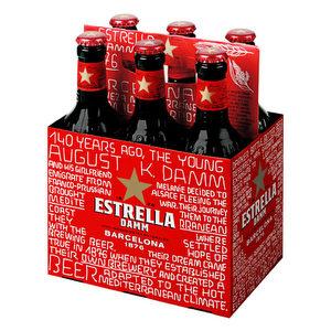 Pack de 6 - Estrella Damm Barcelona Gluten free 330 ml