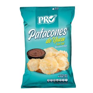 Patacones de Yuca - Pro -  200 grs