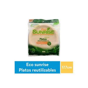 Plato #7 100% compostable - EcoSunrise x 10 unid