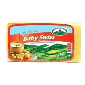 Queso Baby Swiss - Monteverde - 300 grs