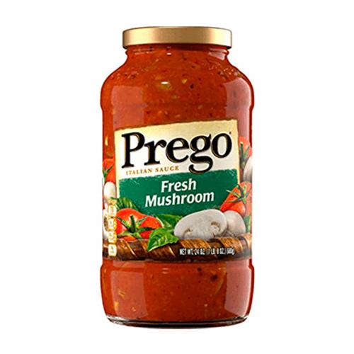 Salsa Prego Fresh Mushroom - 659 grs