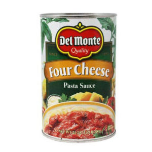 Salsa Tomate & Four Cheese 680 grs - Del Monte