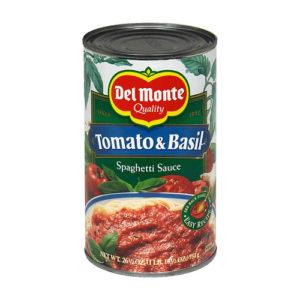 Salsa Tomate con Albahaca 680 grs - Del Monte