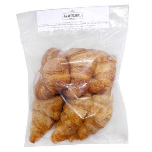 Croissant x 6 (3 Salados, 3 Dulces) - La Artesanal