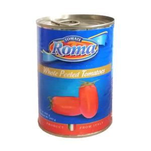 Lata Tomate Entero Roma - 400gr