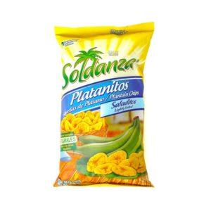 Platanitos salados - Soldanza 180 grs
