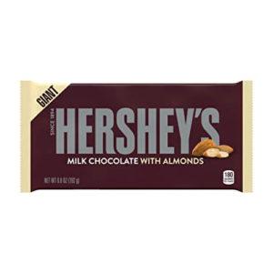 Chocolate con Almendras Barra Gigante -  Hersheys  198 grs