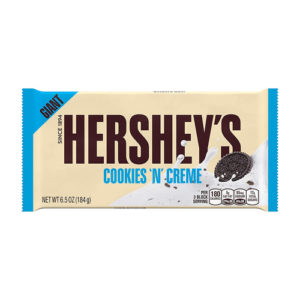 Chocolate con Cookies y Crema  Barra Gigante -  Hersheys  198 grs