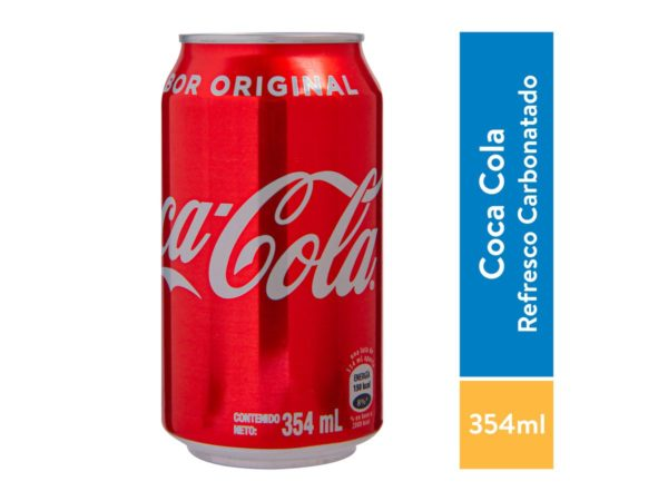 Coca Cola Original Lata 355 ml