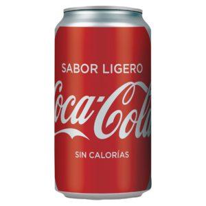 Coca Cola Sabor Ligero Lata 355 ml