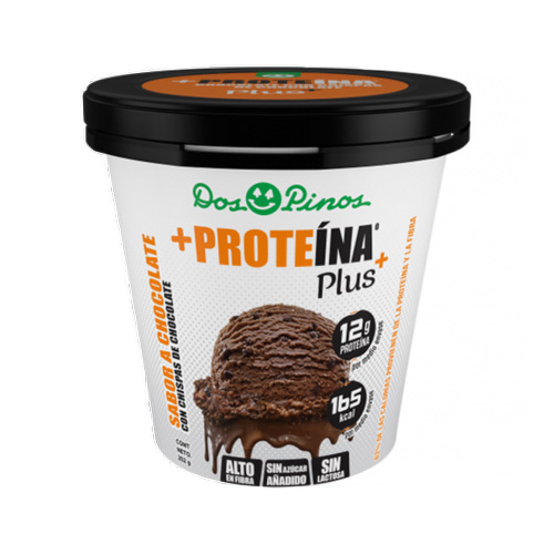 Helado Delactosado sabor Chocolate Proteina+ - Dos Pinos - 252 gr