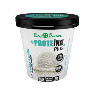 Helado Delactosado sabor Coco Proteina+ Dos Pinos - 252 gr