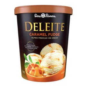 Helado Deleite Caramel Fudge - Dos Pinos 565 gr