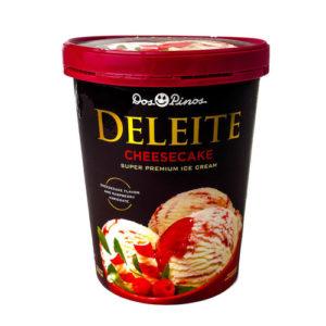 Helado Deleite Cheesecake - Dos Pinos 565 gr