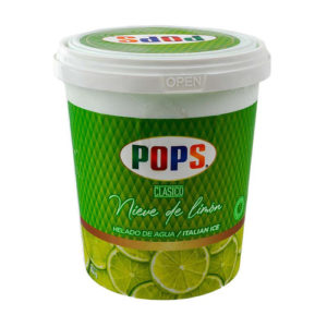 Helado Nieve de Limón - Pops 744 gr