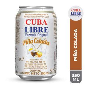 Lata Cuba Libre Piña Colada - 350 ml
