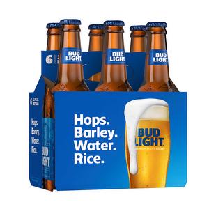 Pack de 6 - Bud Light 330 ml