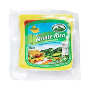 Queso Monte Rico rebanadas - Monteverde 280 grs