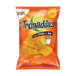Tronaditas con Limón y sal - Tosty 175 grs