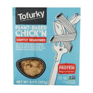 Trozos de pollo vegano - Tofurky 227 grs