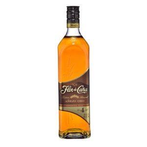 Ron Flor de Caña Oro 4 años 750 ml