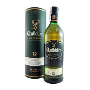 Whisky Glenfiddich  12 años 1 Lt