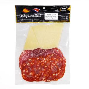 Surtido Chorizo-Salchichon-Queso - Hispanotica