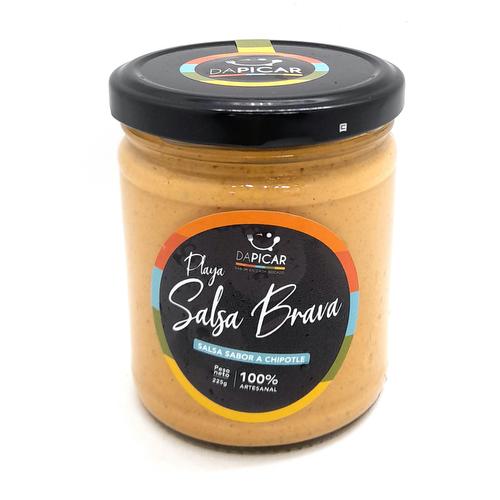Salsa Brava - Chipotle 210 grs - Dapicar