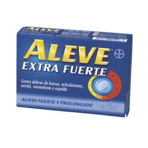 Aleve Extra Fuerte 220 mg 12 Tabletas