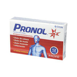 Pronol 220 mg 10 Tabletas