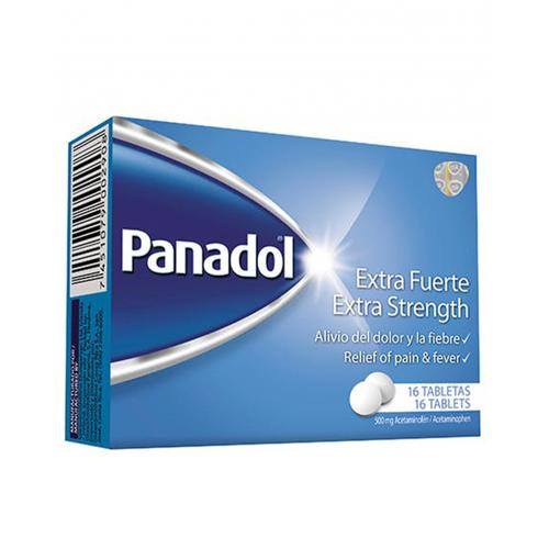 Panadol Extra Fuerte 16 cápsulas