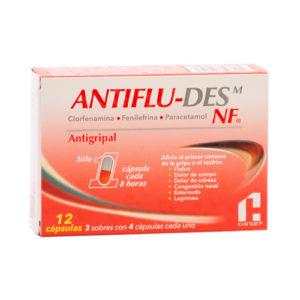 AntiFlu-Des NF Antigripal - 12 cápsulas